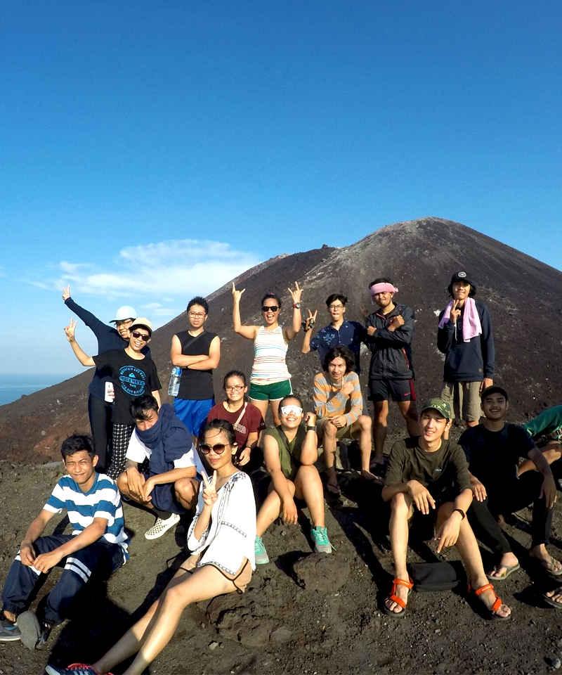 paket wisata gunung krakatau dari lampung