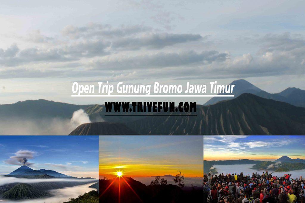 Open Trip Bromo dan River Tubing Suangi Amprong