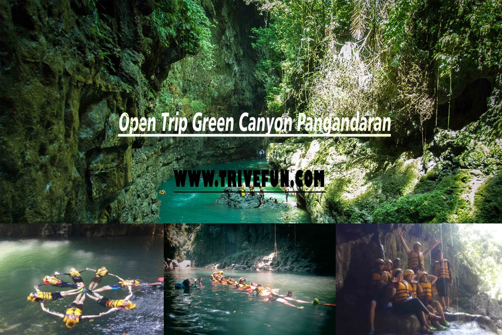 Open Trip Green Canyon Pangandaran