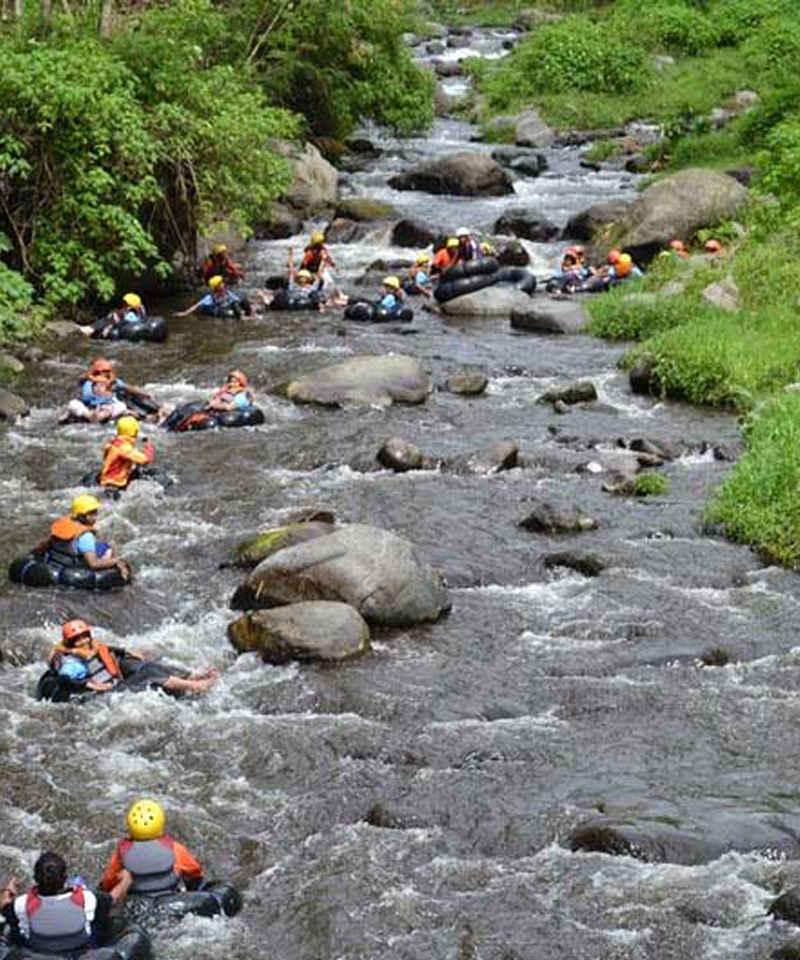 open trip Bromo dan River Tubing Sungai Amprong