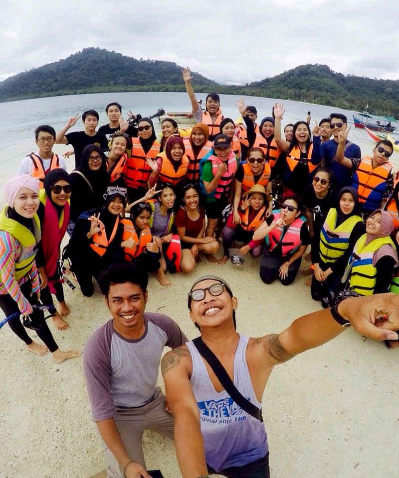 paket wisata pulau pahawang dari palembang